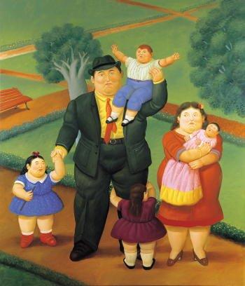 Fernando Botero, Grande famiglia