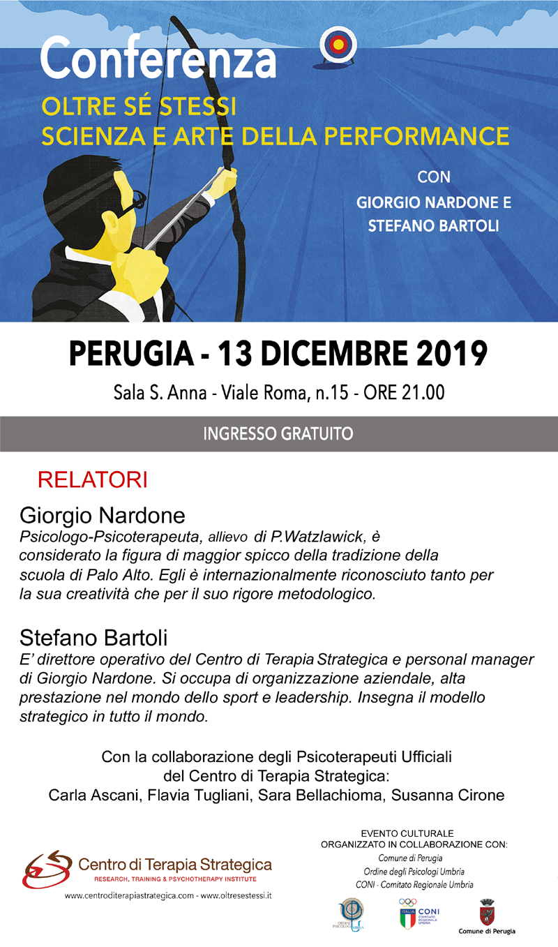 2019.12.13 Locandina Oltre se stessi Scienza e Arte della Performance